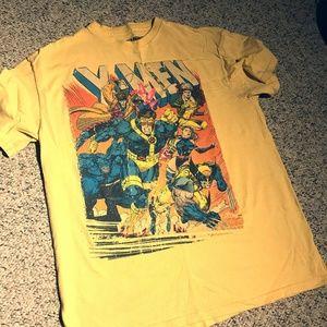Yellow X-Men Graphic T-Shirt Medium